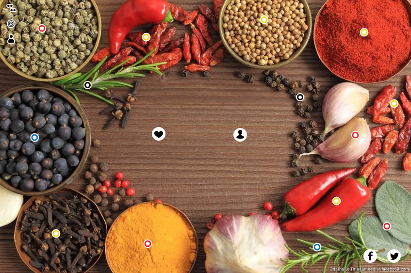 Photo of spices and herbs