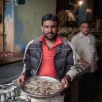 Indian fisherman travel photograph from Bangalore India