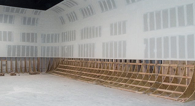 commercial photographer wood cyc wall radius photo