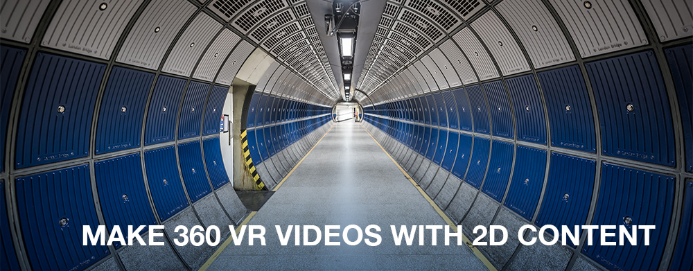 how to make 360 VR videos from photos