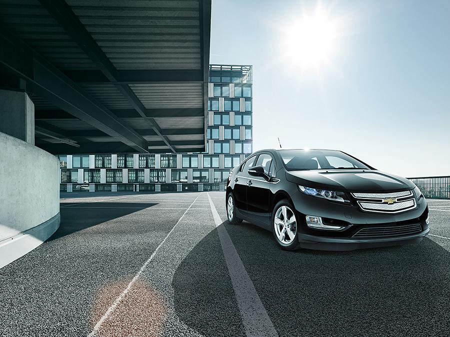 Commercial Automotive Photography of Chevrolet Volt