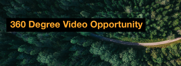 360 Degree Video Opportunity