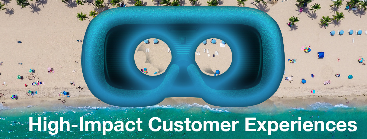 Supercharge High-Impact Customer Experiences with VR
