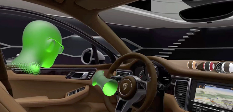 Automotive VR Design for Consumer Experience