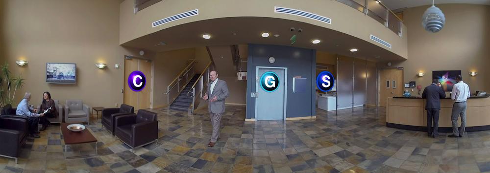 Stereo 360 VR app