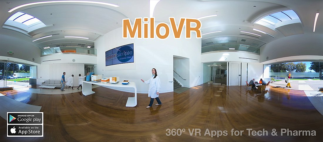 360 video for product demonstration